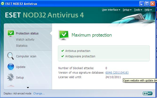 Free download program Eset Nod32 Antivirus 4 Username And ...